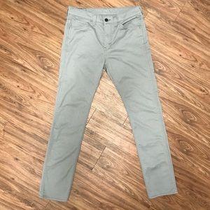 Levi's 510 Skinny Jeans 32x32 Gray